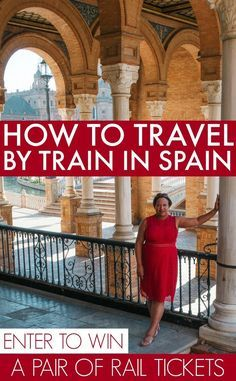 How to travel by train in Spain. Spain's high speed rail network lets you see more of the country's beautiful towns and cities in less time. Land in one of the major cities, hop on a train and experience the best Spain has to offer just like we did in Madrid, Seville, Zaragoza and Tarragona. And why not do it for yourself? Enter our prize draw to win a pair of tickets to use on the AVE rail network. Draw closes at midnight GMT on December 15, 2017 - good luck! #prizedraw #SpainByTrain