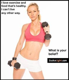 My fave role model for fitness... Zuzka Light ;)