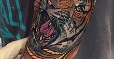tiger neo traditional tattoo: 19 тыс изображений найдено в Яндекс.Картинках