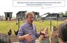 P.Allen Smith talks about his heritage poultry dreams.