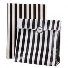 Monochrome Partybags - Luxury Party Supplies UK - The Original Party Bag Company Favor Bags, Treat Bags, Goodie Bags, Black White Parties, Black And White, Classy Hen Party, Monochrome Weddings, Hen Party Accessories, Kids Party Themes