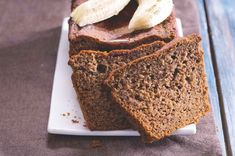 Banánový chlebíček Healthy Cooking, Banana Bread, Sweet Tooth, Recipes, Food, Meal, Rezepte, Essen, Recipies