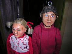 Storie di Natale - MARIONETTE MAURIZIO LUPI. Uno spettacolo di marionette per bambini. Teatro dei ragazzi. Struttura utilizzabile sia in interni che in esterni (piazza, ecc...).