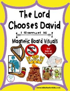 Cathys Corner David Anointed King Sunday School LessonsSunday CraftsKing CraftDavid BibleMagnetic BoardsVBS