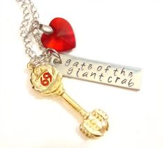 The Celestial Key to Cancer Necklace