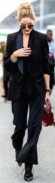 Olivia Palermo's fall style.