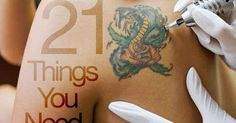 1. Start small.         If you're new to tattooing, there's no shame in starting small. Give yourself a chance to learn the process, ...
