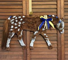 Items similar to Appaloosa Horse/Horse Wreath/Horse on Etsy Dressage Horses, Appaloosa Horses, Friesian Horse, Horse Horse, Horse Head Wreath, Black Lab Puppies, Corgi Puppies, Dog Grooming Business, Horse Crafts