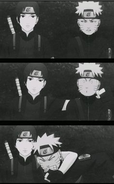 Sai and Naruto😂 shared by Jessy#нaтaĸe on We Heart It