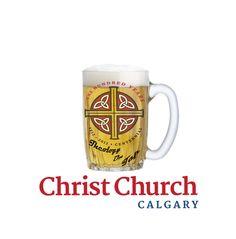 Draft Logo 1 Christ Church Calgary's Theology on Tap Program. Calgary, Christ, Beer, Mugs, Ale, Cups, Tumblers, Tumbler
