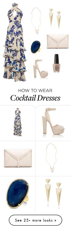 """Untitled #300"" by shannonb-anderson on Polyvore featuring Johanna Ortiz, Prada, Girly, Anne Sisteron and OPI"