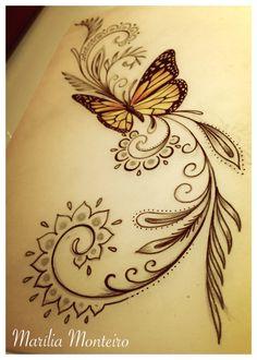 (Não copiem! Peçam para seu tatuador criar algo exclusivo pra vocês! Tatuador bom cria, não cópia!)