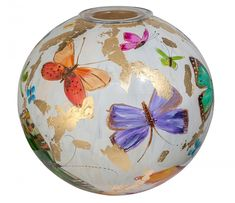 Christmas Bulbs, Christmas Ideas, Glass Art, Interior Design, Holiday Decor, Beautiful, Painting, Rocks, Home Decor