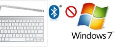 Solved: Apple Wireless keyboard Windows 7 Bluetooth issue