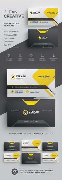 Creative Business Card Template - Creative #Business #Cards Download here:  https://graphicriver.net/item/creative-business-card-template/19710826?ref=alena994