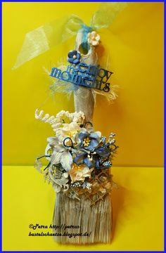 Paintbrush deco,  Wild Orchid Crafts Blumen