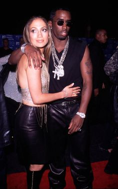 Jennifer Lopez and Puff Daddy | Jennifer Lopez: 44 Years of Spectacular Horribleness in Review