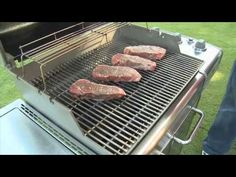 How To Grill Steak Weber Grill Knowledge Weber Grill Recipes, Steak Recipes, Grilling Recipes, New Recipes, Cooking Recipes, Grilling Ideas, Best Steak, How To Grill Steak, Yummy Grill