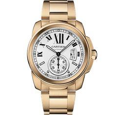 18K Rose Gold Calibre de  De Cartier Watch