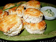 Melissa's Southern Style Kitchen: Beef & Blue Cheese Biscuits