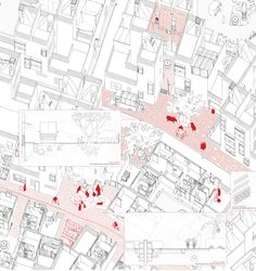 Alberto Gonzalez + Capitel Martorell // Collaborative Urban Development 如何讲述一个有许多分散想法又十分细致的方案