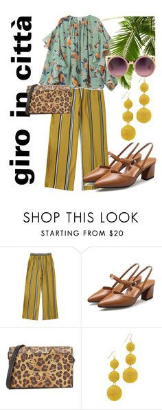 """giro in città"" by beatrice-ballarini on Polyvore featuring moda, Charlotte Olympia, Kenneth Jay Lane e Erdem"