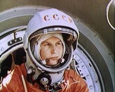 Cosmonaut Valentina Tereshkova; 1st Woman in Space 50 Years Ago! Ready for Mars
