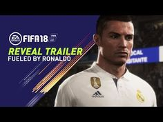 Available September FIFA 18 is fueled by Cristiano Ronaldo, all-time top scorer of Real Madrid C. and winner of the Best FIFA Men's Player Award. Pre-Order the Ronaldo Edition and get 3 Days Early Access: Powered by Frostbite, FIFA Cristiano Ronaldo, Fifa 17, World Cup 2018, Fifa World Cup, Nintendo Switch, New Games For Ps4, Gamer News, Xbox News, Ea Sports