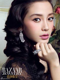 Angelababy for Bazaar Jewelry | Cfensi