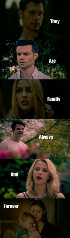 Klaus, elijah, Rebekah, kol, freya, hayley et hope