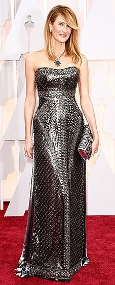 The Wild star knocked it out of the park in a custom Alberta Ferretti gown.