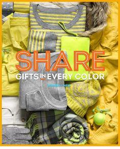 share gifts in every color