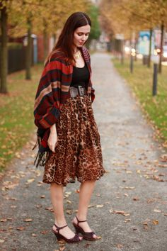 THE STYLING DUTCHMAN.: Lia Meo, Leopard Skirt