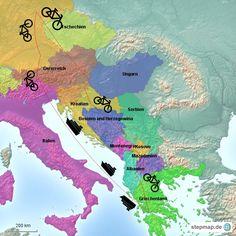 Trans East Europe Von Thüringen nach Griechenland und wieder back.