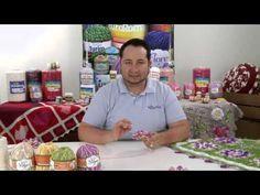 Crochetando com EuroRoma e Marcelo Nunes - Flor Copo de Leite - YouTube