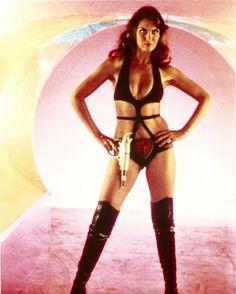 Caroline Munro as Stella Star in 'Starcrash' (1979)