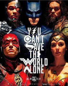 Justice League 2017. Poster.Wonder Woman.Batman.Flash.Aquaman.Superman.Dc comics Movie