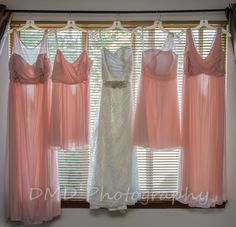 Bridesmaid dresses, Wedding dress, Bridal party
