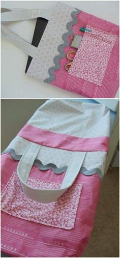Big Pocket Tote Bag