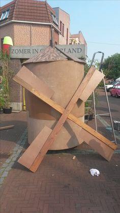 Programma van Tv Gelderland met Angeliqeu Kruger en haar team '' Zomer in Gelderland '' Foto's in Zeddam gemaakt