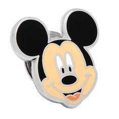 Disney's Mickey Mouse Head Lapel Pin, Men's, multicolor