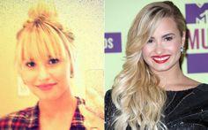 Demi Lovato mudou mais uma vez: a cantora agora tem uma franjinha comprida e bem desfiada. Os lovatics curtiram!