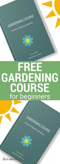 Free Gardening Course for Beginners - Calling all beginners gardener! Enroll to this free gardening course and start learning the basics about starting a garden. #Garden #gardening #Free #Course