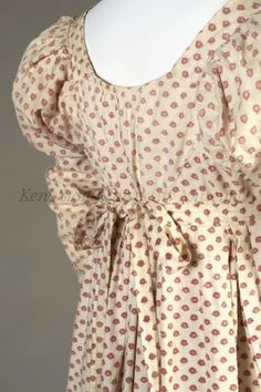 Day Dress (image 6) | English | 1808-1812 | cotton | Kent State University Museum | Object #: 1983.001.0028