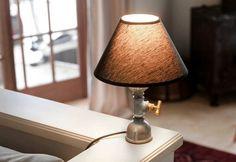 Fat Mona и Little Мona: лампа от водопроводни тръби на Kozo