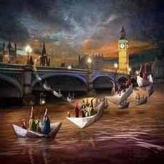 Midnight Tour, London by Matylda Konecka   Edinburgh Arts