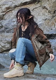 Image in life collection by 🧎‍♀️ on We Heart It Edgy Outfits, Grunge Outfits, Pretty Outfits, Cool Outfits, Fashion Outfits, Aesthetic Fashion, Aesthetic Clothes, Estilo Dark, Fairy Clothes