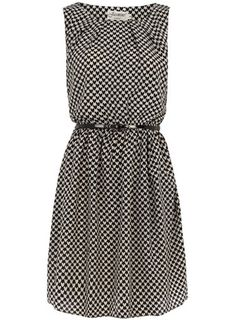 Dorothy Perkins  Black sleeveless belted dress $17