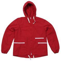 *v* - Engineered Garments Windbreaker (Red Cotton Ripstop)