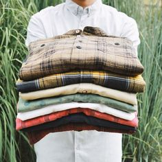 You can't have too many, in our opinion. @urbanoutfittersmens #UOMens #flannel #urbanoutfitters